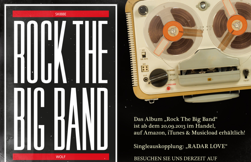 Rock The Big Band Album Artwork